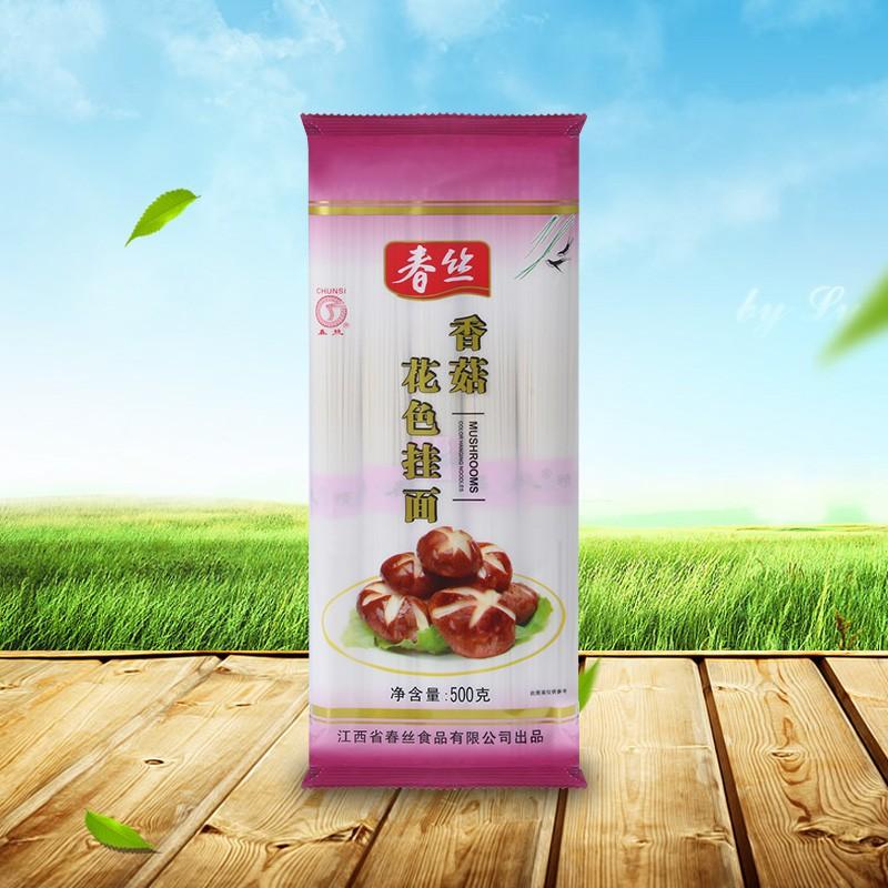 春丝牌香菇花色挂面500g